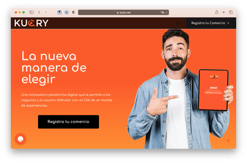 kuery is a costa rican yelp-like app