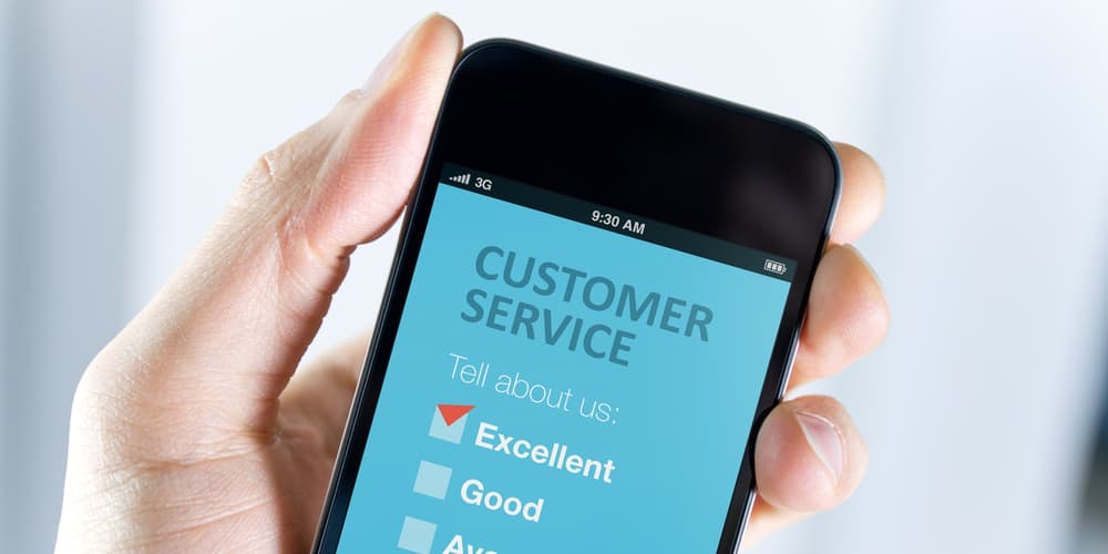 customer service is a great benefit of mobile apps