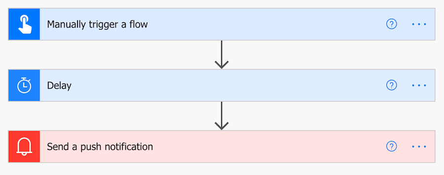 power automate flow for triggering notification