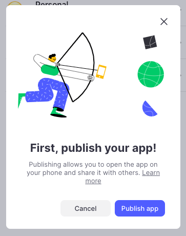 glide publish mvp without code
