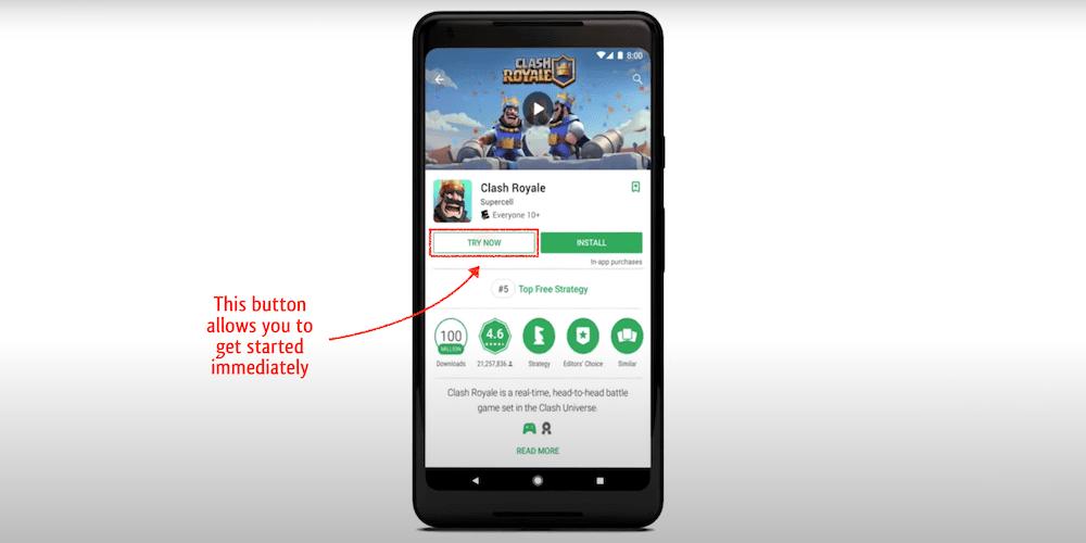 google play instant apps future of app development