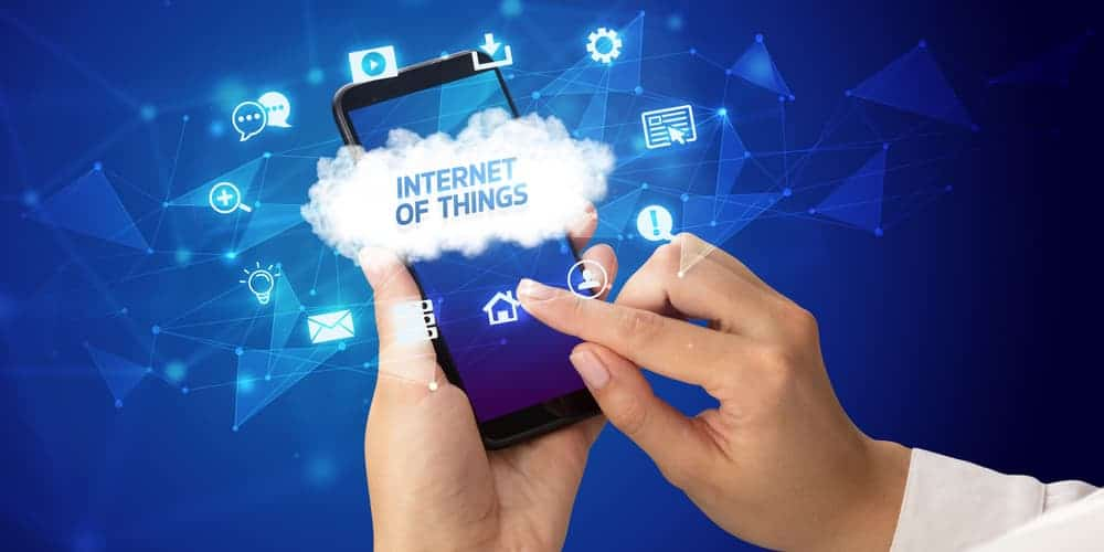 internet of things is one of the major future trends in app development