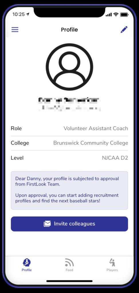 firstlook user profile creation