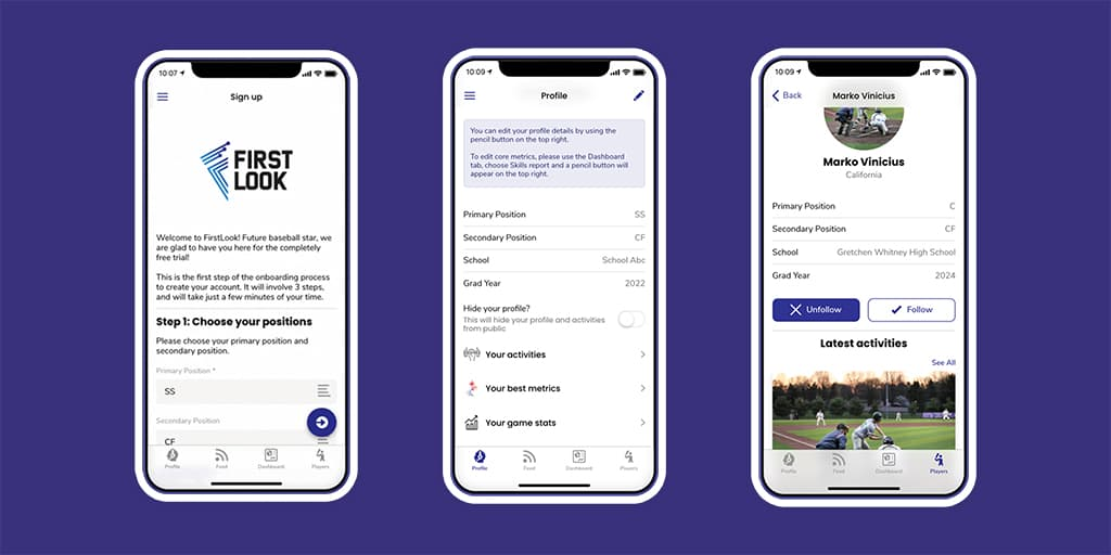 first look case study coaching app example