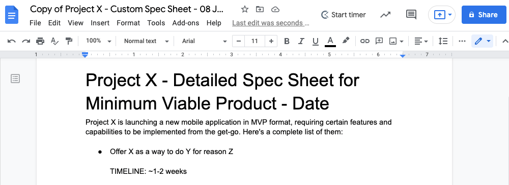 define features and requirements mvp launch checklist 5