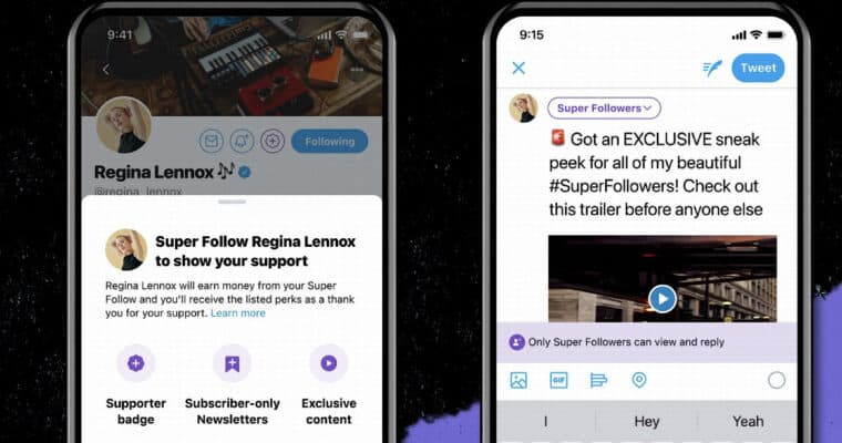 twitter super follows from sej example of creator business model