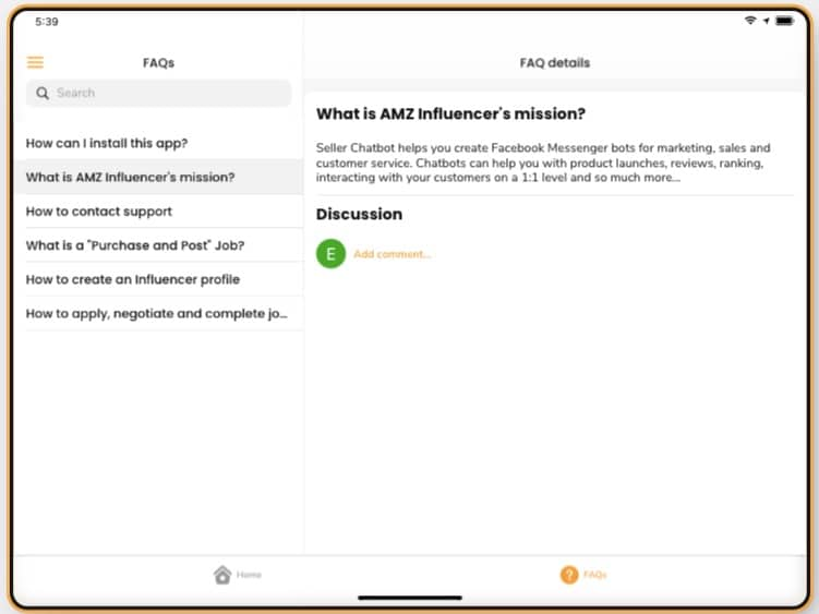 FAQs for AMZ Sellers and Influencers