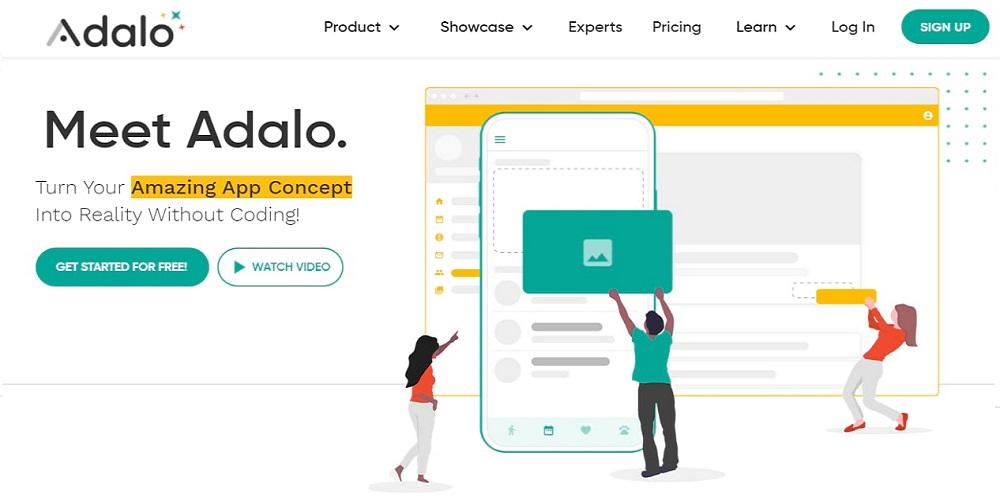 Adalo Homepage